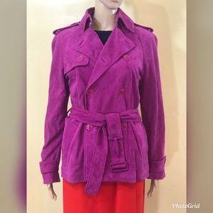 Ralph Lauren Collection suede safari style jacket